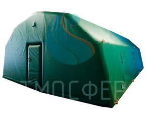 Палатка-зеленая-9х6-2